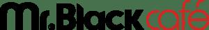 mr black cafe logo preto